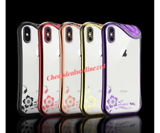 Luxury Bling Glitter Soft Shock proof Silicone Case Cover For iPhone X 7 Plus 8