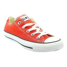 Converse Chuck Taylor Lace Up Low Trainers - Red  Womens Size