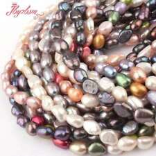 4-6X5-8Mm Freeform Freshwater Pearl Natural Stone Beads For Necklace Bracelet Je
