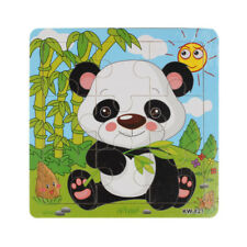 Wooden Panda Jigsaw Toys For Kids Education And Learning Puzzles Toys Salable UK