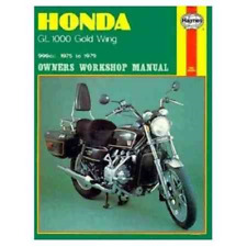 Haynes Workshop Manual Honda Gold Wing 1975-1979 GL GL1000 Service Repair Manual