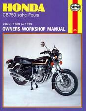 Haynes Workshop Manual Honda CB750 SOHC Fours 1969-1979 Service Repair 736cc