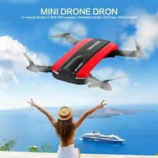 Foldable Drone Tracker Phone Control Mini Drones with Wifi FPV HD Camera Pocket