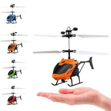 Mini Helicopter Induction Aircraft Remote Control RC Drone with Flash Light