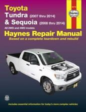 Toyota Tundra & Sequoia 2007-2014 New Haynes Workshop Manual Service Repair