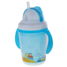 Baby Infant Straw BPA Free Sippy Cup Apprendimento Bere Handle Bottle