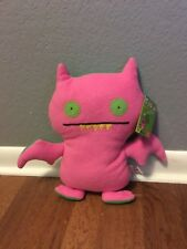 NWT UGLYDOLL ICE BAT DOUBLE TROUBLE PINK GREEN 15