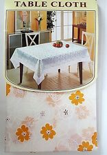 Tablecloth Runner Placement 100% Polyester/ Embroidered / Lace Design