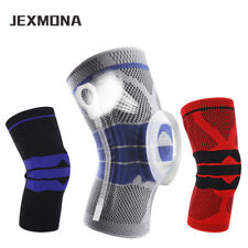 Sleeve Compression Silicone Knee Pads Running Leg Training Basketball Volleyball