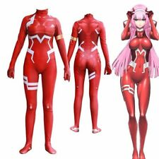 DARLING in the FRANXX Zero Two 02 Costume Sexy Anime Bodysuit Jumpsuits Cosplay