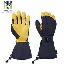 Sports Ski Skiing Gloves Snowboard Snowmobile Motorcycle Riding Winter Windproof