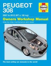 Haynes Workshop Manual Peugeot 308 Petrol & Diesel 2007-2012 Service & Repair