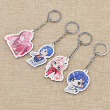 DARLING In The FRANXX Keychain Acrylic Pendant Model Phone Charms Cosplay Toy