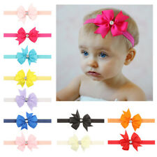 5,10,20pcs Elastic Baby Headdress Kid Hair Band Girls Bow Newborn Headband gifts