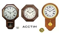 Acctim Woodstock Wood Effect Pendulum Taunton Pendulum Wall Clock & Other Clock