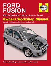 Haynes Workshop Manual Ford Fusion 2002-2012 Petrol & Diesel Service & Repair