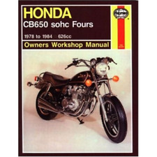 Honda CB650 sohc Fours 1978-1984 Haynes Workshop Manual Service Repair Manual