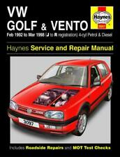 Haynes Workshop Manual VW Golf Vento 1992-1998 Petrol Diesel New  Service Repair
