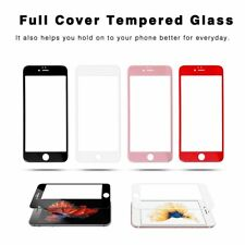 Full Cover 9H Tempered Glass Screen Protector Toughened Film For iPhone 7 NEW