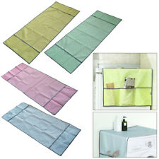 Refrigerator Washing Machine Dust Cover with Storage Bag Waterproof Household