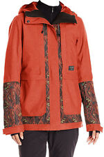 NEW BILLABONG WOMEN SNOWBOARD SKI SNOW JACKET SMALL S 4 8 KOKO INSULATED 10K RED