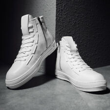Men's High Top Sneakers Ankle Boots Lace Up Casual Fashion Skateboard Shoes