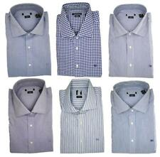 Pedro Del Hierro Classic Fit Long Sleeve Single Cuff Shirts 100% Cotton