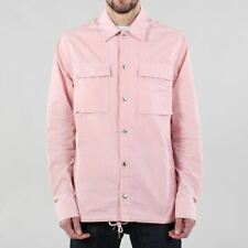 Penfield Men's New Oakledge Cotton Garment Dyed Overshirt Jacket Orchid Pink