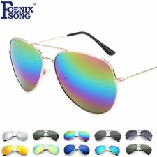 Aviator Pilot Men Sunglasses Sun Glasses for Women Mirrored UV Eyewear Goggles