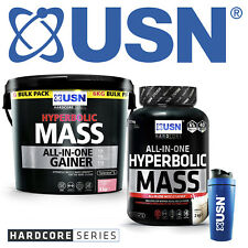 USN Hyperbolic Mass All in One Muscle Mass Protein Shake Gainer - FREE P&P