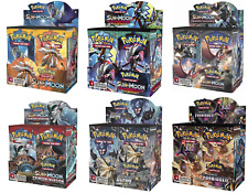 Pokemon Sun and Moon Booster Pack Choose From Different Series - 1x Booster Pack