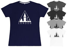 Ladies T-Shirt London Silhouette Fitted Womens Tee Top