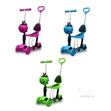 Kids Scooter Mini Baby Mobility Scooters Toddler Boys Girls Children Pro 3 IS