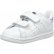 wholesale dealer bb3dc 0410d adidas Originals Stan Smith CF I WhiteIridescent Leather Infant Trainers