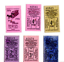 Douglas Corporation Transport collectible Horse Tram & bus tickets
