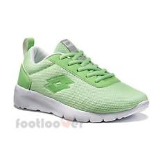 Scarpe Lotto Megalight W T4043 Donna Green Nylon Running Sneakers Casual Moda