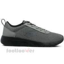 Lotto Megalight T3979 Mens Shoes Grey Black Nylon Running Sneakers Trainers