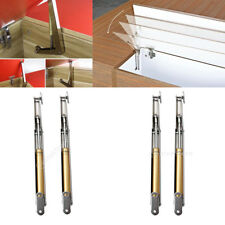 2Pcs Kitchen Cabinet Door Toy Box Pneumatic Gas Spring Strut Stay Hinge