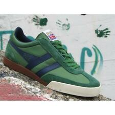 Scarpe Gola Super Harrier CMA218NE Uomo Sneakers Nylon Green Navy Casual Moda