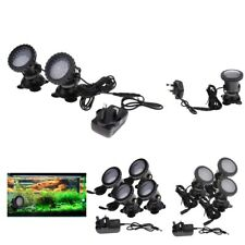 36LED Aquarium Submersible Lamp Light Fountain Fish Tank Water Pond Spotlight