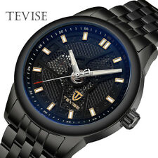 TEVISE Automatic Mechanical Watch Men's Wrist Watches Steel Brand Luminous