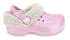 Crocs Kids Blitzen Clog Soft Synthetic Fur Lining For Warmth