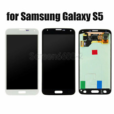 Per Samsung Galaxy S5 G900F S5+G901F Lcd Display Touchscreen Schermo Vetro+cover