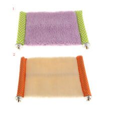 Soft Squirrel Hammock Hamster Nest Bed Cat Sleeping Pad Bed Mat Small/Large