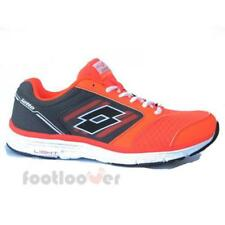 Scarpe Lotto Everide R5916 Uomo Sneakers Fashion Running Orange Grey moda  IT