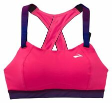 Brooks Moving Comfort Juno High-Impact Reggiseno sportivo Fucsia - 350071-603