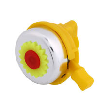 543A486 Sunflower Shaped Boys Girls Bike Bicycle Cycling Bell Ring Hoorn Alarm