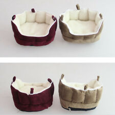 Portable Washable Puppy Small Pet Nest Hamster Guinea Pig Bed Warm Cave House