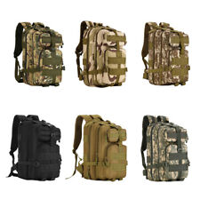 40L Outdoor Military Tactical Shoulder Backpack Camping Hiking Trekking Bag