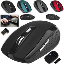 2.4 GHz Wireless Optical 2000DPI Mouse Mini Mice + USB Receiver For Laptop PC
